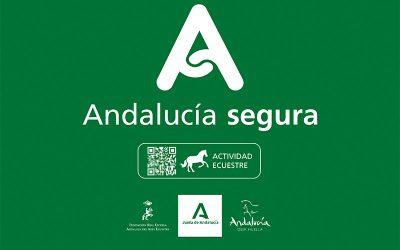 """La Real Escuela cuenta con el distintivo """"Andalucía Segura"""""""