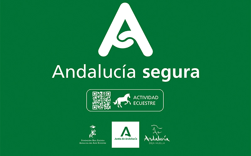 "The Royal School has the distinctive character of ""Andalucía Segura"" (Safe Andalucía)"
